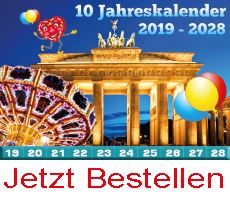 10 Jahreskalender
