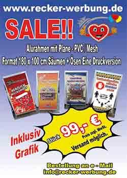 Aluzaun mit PVC / MESH Plne